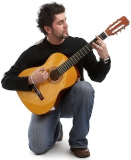 Take acoustic guitar lessons