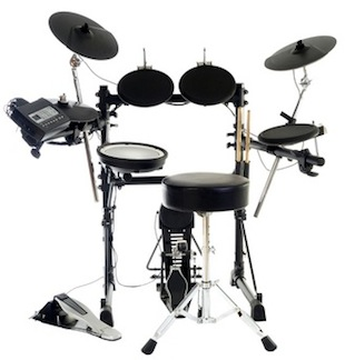Take electronic drum lessons
